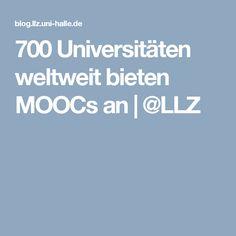 700 Universitäten weltweit bieten MOOCs an