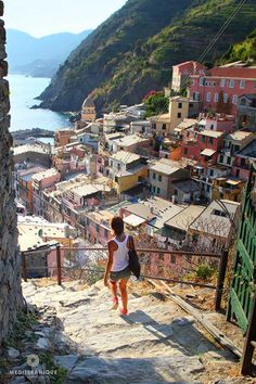 15 Most Romantic Getaways Around The World - The rocky shores of the Italian Riviera belong in the pages of a romance novel. We picked Cinque Terre as one of the 15 most romantic getaways in the world. Places Around The World, The Places Youll Go, Travel Around The World, Places To Visit, Around The Worlds, Dream Vacations, Vacation Spots, Places To Travel, Travel Destinations