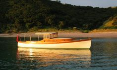 Whio - an economical trailerable modern classic made by Peter Sewell in NZ. (Featured in Woodenboat #190, May/June 2006)
