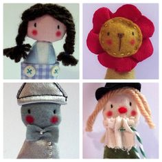 The Wonderful Wizard of Oz - finger puppets