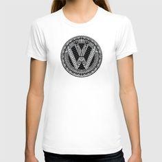 Aztec vw volkswagen sign T-shirt @society6 #tshirt #tee #clothing #artprint #artdesign #frameart #artprinting #aztec #car #logo #jeep #bmw