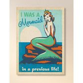 Found it at Wayfair - Mermaid Queen Framed Graphic Art