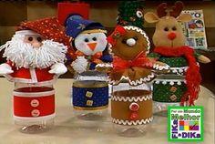 Fika a Dika - Por um Mundo Melhor: Natal Ideias de Decoração 1 Xmas Ornaments, Elf On The Shelf, Gingerbread, Santa, Holiday Decor, Christmas, Diy, Home Decor, Google