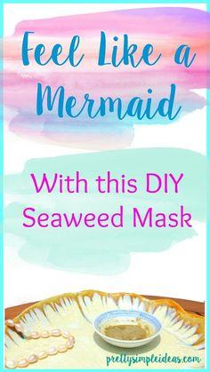 Feel Like a Mermaid with this DIY Seaweed Mask - Pretty Simple Ideas - a green beauty, DIY & faith blog