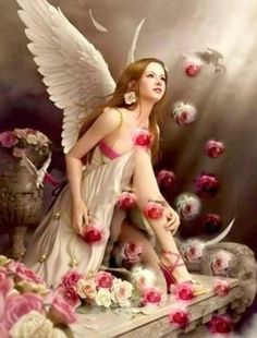 Fairy n Roses poses. Fairy Pictures, Angel Pictures, Beautiful Angels Pictures, Beautiful Fantasy Art, Beautiful Fairies, Elfen Fantasy, Angel Artwork, Angel Drawing, Angel Images
