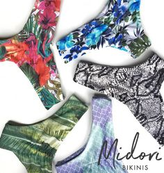 Midori Bikinis' Brayden bottoms are the perfect amount of cheeky + coverage. A feminine scrunch in the back adds just a touch of sexy.