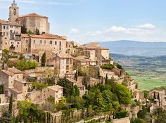 Gordes, France - France's Provence region isn't all lavender fields and vineyards. The town of Gordes, nestled between the Vaucluse Mountains and the Luberon valley, is home to castles that date back to the 12th century.