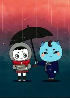 Goblin:The Lonely and Great God❤Ji Eun Tak and Goblin❤Very Cute :))