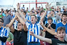 Brighton & Hove Albion, Brighton And Hove, Fan, Twitter, Gallery, Roof Rack, Hand Fan