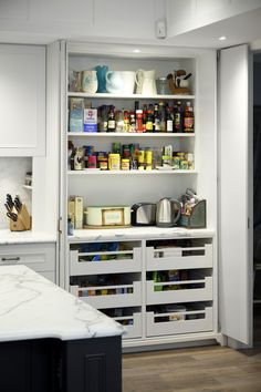 www.kitchensbydesign.com.au :: Hidden Butlers Pantry