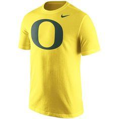 Oregon Ducks Nike Logo T-Shirt - Yellow - $25.99