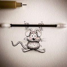 Meet_Rikiki_A_Cute_Cartoon_Mouse_by_Loic_Apreda_2016_08
