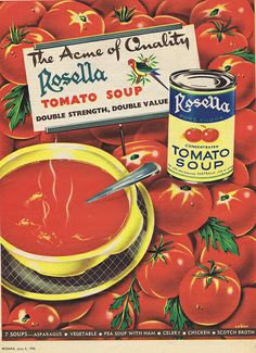 Rosella 1956 by Runabout63, via Flickr Funny Vintage Ads, Vintage Humor, Retro Vintage, Vintage Food, Retro Recipes, Vintage Recipes, Scotch Broth, Vintage Housewife, Food Advertising
