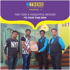 They took a Thoughtful decision. Its your time now.  Register now for #ITrendCarnival with Rs 21,000/- refundable amount. Call: +91 9511951142   www.itrendhomes.com