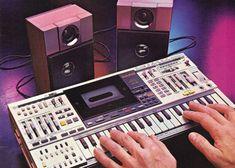 Casio KX-101 synthesizer boombox