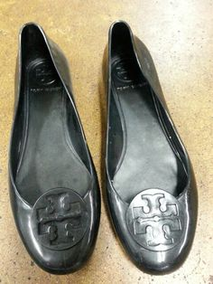 Tory Burch rubber flats!