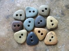 little stone buttons