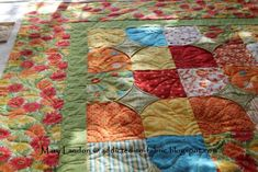 Love, the block, love the border !!  Great job Mary!  addicted-to-fabric: 10-Minute Block Quilt