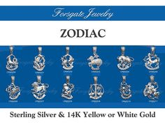 Sterling Silver  14K Yellow Gold  14K White by ForsgateJewelry, $56.70