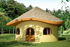 Earthbag Building: Hobbit House Plan