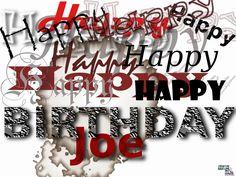 #HappyBirthday #Graphics #SoulcialMe Joe