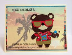 "~ Marilyn's Cricut Cards ~: Teddy Bear Parade. I ""need"" this cart! :)"