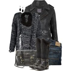 A Little Rough.... Woman Fashion, Fashion Fall, Fashion Outfits, Fashion Trends, Fall Baby, Clothing Styles, Beautiful Outfits, Style Ideas, Going Out