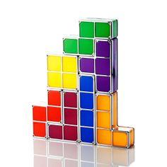 Luminária de Led Tetris | iBacana