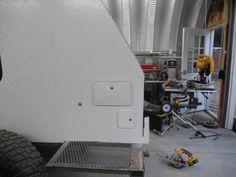 Skersfan& New Shuttle Pod Trailer Build. Off Road Trailer, Trailer Build, New Trailers, Camp Trailers, Mini Caravan, Off Road Camping, Expedition Trailer, Fj Cruiser, Porch Lighting