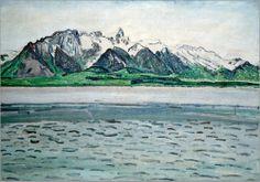 Ferdinand Hodler - Das Stockhorn