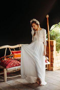 Wedding Dress 2017 // Maison Floret Collection 2017 // Bridal dress 2017 #weddingdress