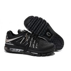 outlet store c3620 de931 Mens Nike Air Max 2015 Shoes Black Silver Cheap Nike Running Shoes, Buy  Nike Shoes