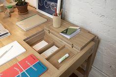 WEWOOD Portugese Joinery Secretary Desk (oak) : McNally Jackson Store