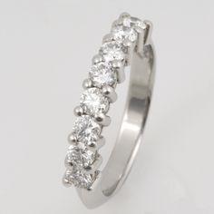 Wedding ring ladies platinum diamond Wedding Ring Designs, Wedding Rings For Women, Jewelry Design, Engagement Rings, Diamond, Lady, Bracelets, Bangle Bracelets, Wedding Rings