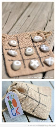 DIY KID CRAFT/GAME & PRINTABLE Throw it in your purse to keep the kids busy at a restaurant or give it as a handmade gift or party favor. Tic-Tac-Toe is always a good idea! diy gifts Tic Tac Toe Rocks Activity or Gift Diy Crafts For Kids, Fun Crafts, Kids Diy, Rock Crafts, Party Crafts, Simple Crafts, Summer Kid Crafts, Summer Diy, Simple Diy