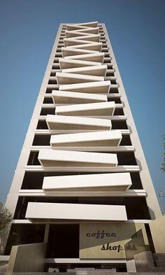 Architecture (Sky Condos by Miguel Montemayor — ARCHITECTURELOVER.COM, via hiromitsu)