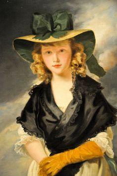 Princess Mary, 1785 - John Hoppner (English Neoclassical Painter, 1758-1810)