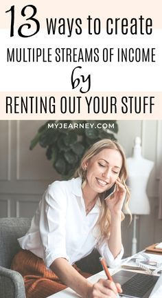 Are you looking for side hustle ideas that don't need much work on your part? Check out this post where I talk about things you can rent out online for extra income. Earn Extra Income, Earn Extra Cash, Making Extra Cash, Extra Money, Make Money Blogging, Way To Make Money, Make Money Online, Money Tips, Multiple Streams Of Income