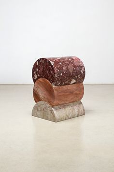 The practice of Korean artist and designer Kwangho Lee is difficult to define. Spanning the genres of painting, design, installation, and sculpture, Lee works with. Terrazzo, Museum Of Fine Arts, Museum Of Modern Art, Copper Stool, Korean Products, Home And Deco, Everyday Objects, Canvas Artwork, Metal Art