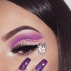 christmas makeup Looks Disney Eye Makeup, Disney Inspired Makeup, Eye Makeup Art, Colorful Eye Makeup, Cute Makeup, Gorgeous Makeup, Skin Makeup, Eyeshadow Makeup, Eye Art