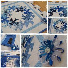 Flic-flac wreath Patchwork, dekorace a doplňky do domácnosti :: Kathy