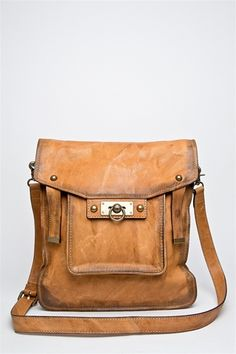 Cameron Magazine Satchel - Camel  A vintage-inspired satchel styled with burnished buckles and a charming antique-look lock is crafted from weathered leather for a rustic Western aesthetic. Shoulder strap can be detached for versatile styling.  http://www.mypricecompare.com/product/Cameron-Magazine-Satchel-Camel.html#
