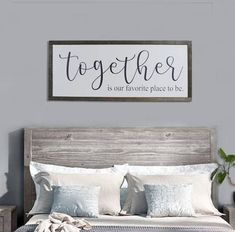 Rustic bedroom Wall Decor - Bedroom wall decor large framed sign Song of Solomon 34 I have found the one whom my soul loves farmhouse wedding decor 48 x 20 Farmhouse Bedroom Decor, Rustic Wall Decor, Rustic Walls, Home Decor Bedroom, Couple Bedroom Decor, Prim Decor, Diy Bedroom, Modern Bedroom, Rustic Farmhouse