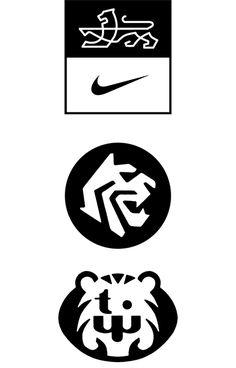 Charles S. Anderson Design Co. Nike Tiger Woods Logo Design