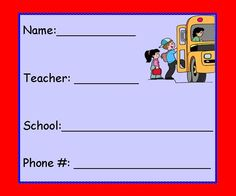 Labels  English/Spanish. May be printed on regular paper or Avery Labels #8464 or equivalent. Join The Learning Patio  Subscription  allows you to download everything on our site!!