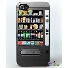 Vending Machine Hard Iphone 4 / Case Brand New Candy Phone Cases, Cute Phone Cases, Cell Phone Covers, Iphone Case Covers, Coque Iphone 5s, Latest Phones, Buy Iphone, Cool Cases, Ideas
