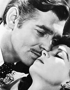 Clark Gable: gone with the wind