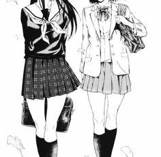 Hi my name is Maya and I love anime and manga! You deserve it! Manga Anime, Manga Girl, Anime Art Girl, Comics Illustration, Illustrations, Aesthetic Images, Aesthetic Anime, Anime Couples, Cute Couples