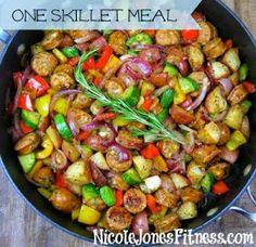 Nicole Jones: Summer Skillet Meal