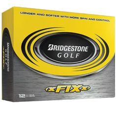 Bridgestone xFIXx Golf Ball (12-Ball Pack) by Bridgestone. $19.99